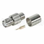 RP-TNC Crimp Jack for RG8, 400-Series Cable