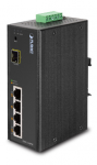 Switch Industrial de 4 Ptos PoE + 1 100FX + Puerto SFP