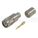 TNC Male Crimp for RG8, 400-Series Cable