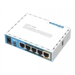 hAP ac lite. Banda Dual, 5 Ptos. FastEthernet, PoE In/Out. L4
