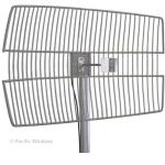28dBi 4.9-5.8Ghz Parabolic Grid Antenna