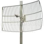 4.9-5.8 GHz 27 dBi Antena Parrilla Aluminio