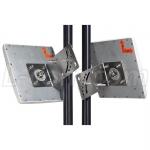4.9 GHz to 5.8 GHz 23 dBi Flat Patch Antenna