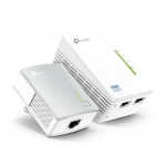Adaptador WiFi Powerline AV600. Hasta 600 Mbps.