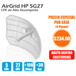 AirGrid M High Power, 5GHz, 25dBm 17x24 27 dBi antenna