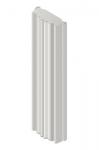 Antena Sectorial airMAX ac MIMO 2x2-45°, 5GHz, 22dBi.