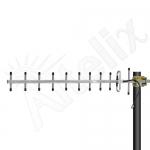 Antena Yagi, 900 MHz - 13dBi. Conector N-Hembra.