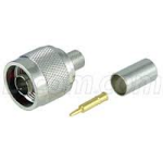 Conector N-Macho Crimp para Cable Serie 300