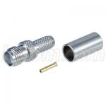 Conector SMA-Hembra Crimp Para Cable RG58 Serie 195