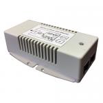 Inyector PoE Gigabit de Alta Potencia, 48V - 24W.