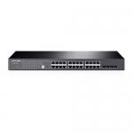 JetStream Smart Switch - 24 Ptos. Giga Ethernet + 4 Ptos. SFP+