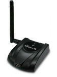 Long Range, 150Mbps Wireless N USB Adapter with Detachable Anten
