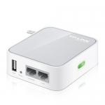 Mini AP/Router Portátil en 2.4 GHz - 802.11n. Hasta 150 Mbps.
