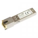 Módulo SFP+ con conector RJ45. Hasta 10 Gbps.