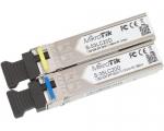 Par de Módulos SFP 1.25G, Conector LC, SM. Hasta 20 KM