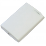 PowerBOX. Router p/Exteriores, 5 Ptos. FastEthernet, Salida PoE.