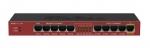 Ruteador Multipuertos Giga/Fast Ethernet con salida PoE