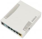 Router 5 puertos Ethernet + 802.11b/g/n RouterOS L4