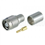 RP-TNC Crimp Plug for RG8, 400-Series Cable