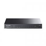 Smart Switch Gigabit - 8 Ptos. GigaEthernet, 2 Ptos. SFP - PoE.