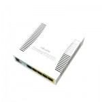 Smart Switch SOHO 5 Puertos Gigabit Ethernet, SFP, 4 PoE