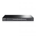 JetStream-Switch Administrable Capa 2, 24x GigaEthernet + 4x SFP