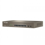 Switch PoE Administrable, 8 Ptos. 10/100/1000 Ethernet - 2x SFP