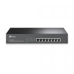 Switch PoE+ 8 Ptos. 10/100/1000Mbps Ethernet. PoE: 124 W