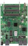 Tarjeta Router 680MHz, 128MB RAM, 3 Ptos Giga Ether, 4 miniPCI