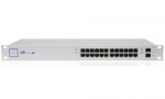 UniFi Switch, 24 Ptos. GigaEthernet PoE+ 802.3af/at, 2xSFP, 500W