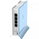 hAP lite. AP en 2.4 GHz, 802.11b/g/n, 4 Ptos. Fast Ethernet, L4