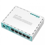 hEX // Router SOHO,  5 Ptos. Giga Ethernet. RouterOS L4