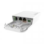 Inyector PoE con capacidad para batería de respaldo.